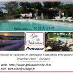 Maison de vacances 5 chambres avec piscine en campagne