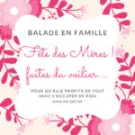 Balade en voilier 100% Fête des Mamans (2018)