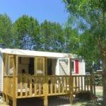Mobile home climatisé 2 chambres