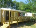 Mobile home climatisé 3 chambres